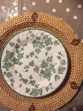 BHS Country Vine Pattern Pottery COLLEZIONE Cena Piatti 26.5 cm circa
