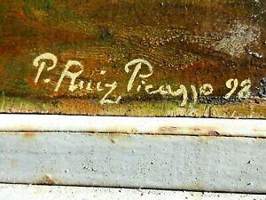 Pablo Picasso Original - 1898 - Signed. estimate $1.300,000 to $1.400,000