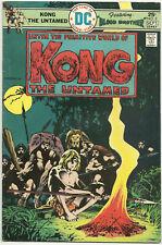 Kong the Untamed #2 FN- Sep 1975 DC Bernie Wrightson Jack Oleck Alfredo Alcala