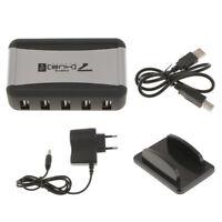Hub USB a 7 porte Adattatore di alimentazione del supporto del caricabatteria