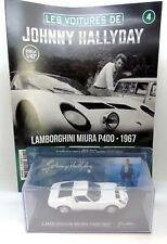 32821 IXO / HACHETTE / JOHNNY HALLYDAY / LAMBORGHINI MIURA P400 1967 1/43