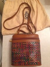 Firenze Very Unique Woven Leather Purse. Must See!