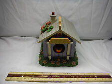 """New listing Moving Robin's Spring Bird House """"Younger Than Springtime"""" Music Box"""