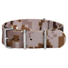 Stainless Steel Premium Nato Nylon Replacement Watch Strap Band