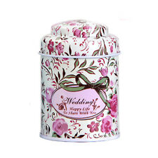 Universal Flower Candy Coffee Tea Tin Metal Sealed Can Container Jar Tin Box New