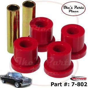 "Prothane 7-802 (2)-Rear (1-3/8"") Frame Only Shackle Bushing Kit 73-92 Truck&Sub"
