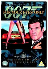 James Bond - For Your Eyes Only Ultimate Edition 2 Disc Set Roger New UK R2 DVD