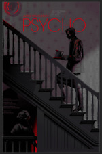 Psycho by Laurent Durieux Variant Mondo Print Poster