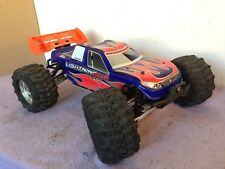 Hot Bodies/lighning 1:8 Nitro 4 WD estadio Truck/buggy no hpi/Carson/Tamiya