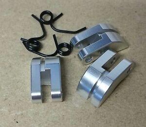 1/8 RC Nitro Car Buggy Truck Clutch Shoes Set Silver