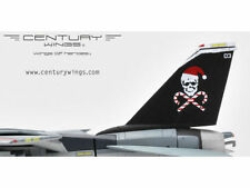 "CW-001613 CENTURY WINGS F-14 F-14B Tomcat US Navy Jolly Rogers""Santa Cat""2000"