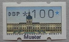 Allemagne neuf, Berlin, timbre de distributeur n°1 avec surcharge Muster, N**