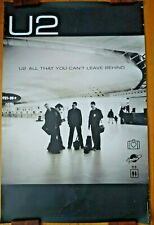 U2 All That You Can't Leave Behind_Poster_Rare_Clean_ Minimalist_See Other Items!