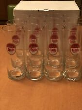 Fruh Kolsch Beer Glasses. 0.4 liter. Box of 12. Brand New from Germany.