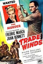TRADE WINDS 1938 Joan Bennett Fredric March Romantic Crime Mystery Dvd