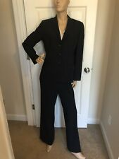 Anne Klein New York Suit Navy 10