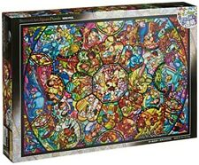 Disney Stained Art Jigsaw Puzzle 1000p All Stars Stained Glass DS 1000 764