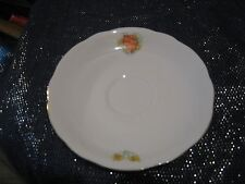 Very pretty Epiag China Saucer with Coat of Arms & daffodils Czechoslovakia