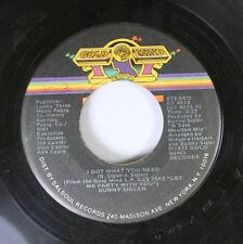 Soul 45 Bunny Sigler - I Got What You Need / It'S Time To Twist On Gold Mind Rec