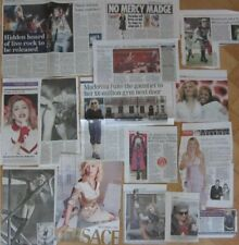 MADONNA clippings/ cuttings UK newspaper