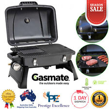Gasmate Voyager Portable Gas BBQ Grill LPG Outdoor Camping Barbecue Cooking NEW