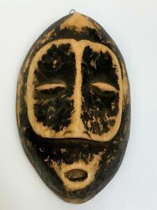 Vintage Early First Nations Haida Tlingit Cedar Wood Mask Wooden