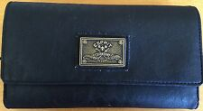 Tri Fold Wallet ESPRIT Vintage Forever Honor Truth De Corp Black