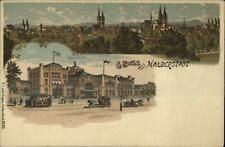 Gruss Aus Halberstadt Germany 1907 Used Postcard