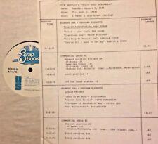 RADIO SHOW: 8/5/86 THIS WK 68! DOORS, MASON WILLIAMS, STATUS QUO, VANILLA FUDGE