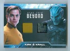 "CHRIS PINE & IDRIS ELBA ""KIRK & KRALL DUAL WARDROBE CARD #DC4"" STAR TREK BEYOND"