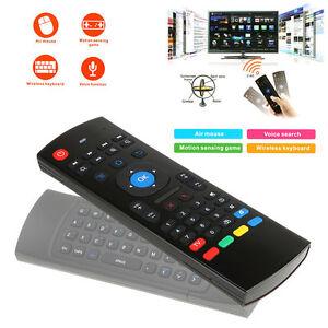 2.4GHz Air Mouse Wireless Tastiera Movimento Sensore Telecomando Android Box PC