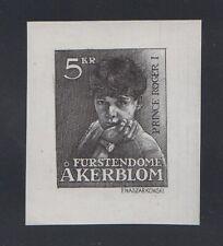 Prince Roger - Furstendome Akerblom (private proof) - engrav. Piotr Naszarkowski