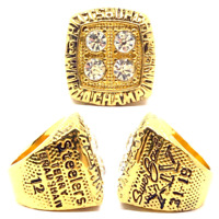 1979 Pittsburgh Steelers Championship Ring #BRADSHAW Super Bowl XIV Size 8-13