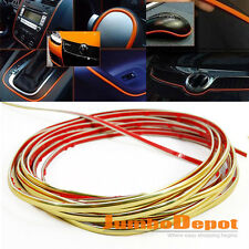 For Hyundai Accent Molding Trim Strip Window Door Dashbaord Shift Knob Golden