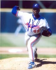 LEE SMITH MONTREAL EXPOS SIGNED 8X10 PHOTO W/COA