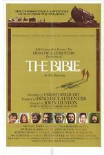 THE BIBLE Movie POSTER 27x40 B Michael Parks Ulla Bergryd Richard Harris Stephen