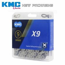 KMC X9 Chain 9 Speed Mountain Bike Bicycle Chain Original X9 MTB Road Bike 116L