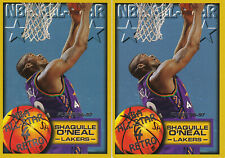 (2) Shaquille O'Neal - 1996-97 Fleer - # 289 - FREE SHIPPING!