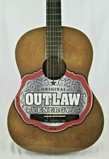 Johnson JG-100-R Student Dreadnought Acoustic Guitar - Outlaw Energy Drink Promo