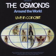 Osmonds - Around The World - Live in concert 2-cd  now on cd.
