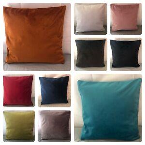 HandMade Plush Velvet Cushion Covers  With Insert Bedroom Living Room Home