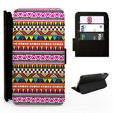 Aztec Pink Patagonia Pattern - Flip Phone Case Cover - Fits Iphone / Samsung