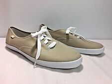 NEW KEDS Women's Tan Canvas Sneaker Tennis Shoes Size 11M
