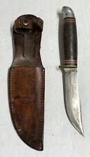 Original WWII Hawthorne Fixed Blade Knife with Sheath