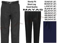 "Black Boys Sturdy Fit School Uniform Trousers Grey Navy Waist 22-40/"" UK"