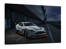 Aston Martin V12 Vantage GT3 - 30x20 Inch Canvas - Framed Picture Poster Print
