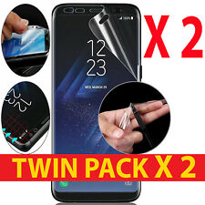 2PACK FOR SAMSUNG GALAXY S8+ NEW FULL COVERAGE PLASTIC HYDROGEL SCREEN PROTECTOR