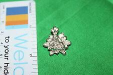 Sri Shirdi Sai Baba Flower shaped Pendant - Silver - solid groove