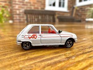 Majorette Renault 5 No.257  Vintage French diecast model