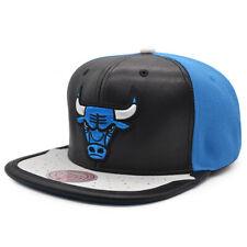 Chicago Bulls Mitchell & Ness JORDAN DAY ONE Snapback NBA Hat -Black/Royal/White